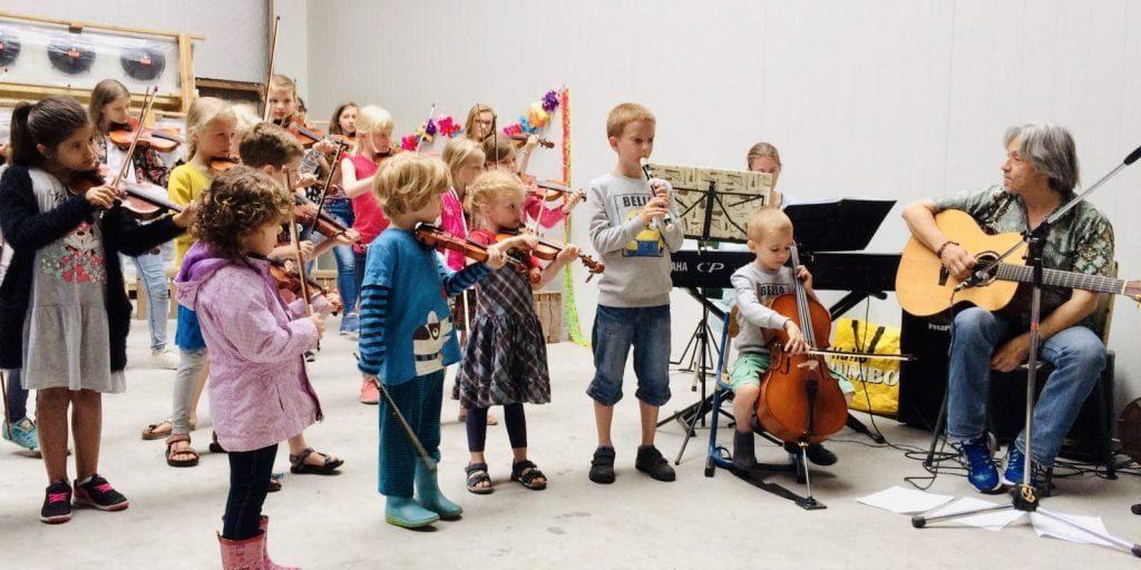 Concertdag van Vioolschool 4Strings Vleuten in Goes