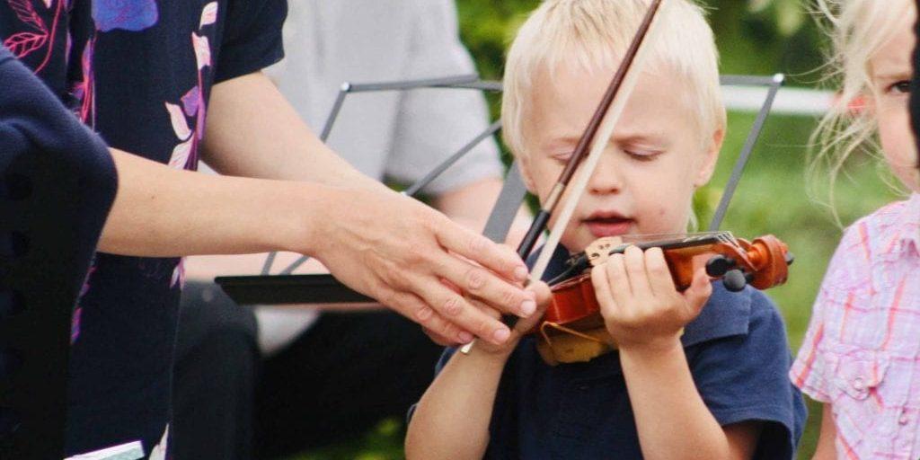 Persoonlijke aandacht en individuele vioolles